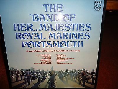 The Band Of Her Majesties Royal Marines Portsmouth LP