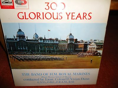 300 Glorious Years The Band Of The Royal Marines LP