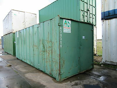 Cheap Steel Storage Shipping Containers 20 x 8 Cambridgeshire