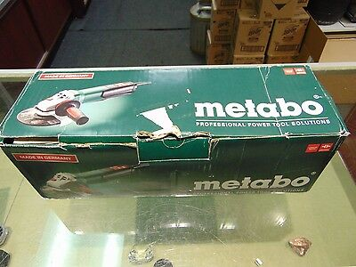 "Metabo 6"" Quick Angle Grinder WEPBA 17-150 GERMANY 14.5 Amp BRAND NEW SHIPS FAST"