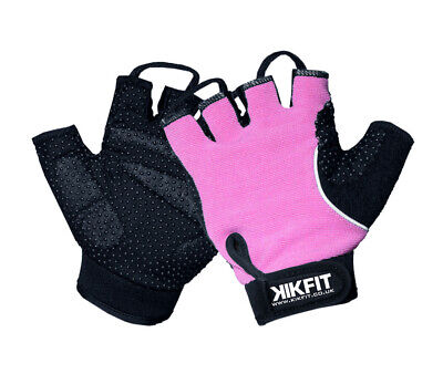 KIKFIT Ladies Half Finger Wheelchair Gloves Crutches Gym Sports Training