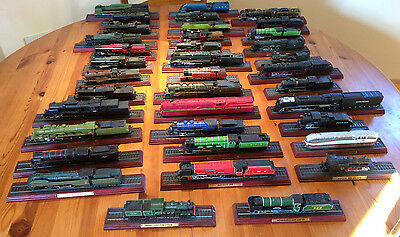 Collection of 37 Atlas Editions model trains