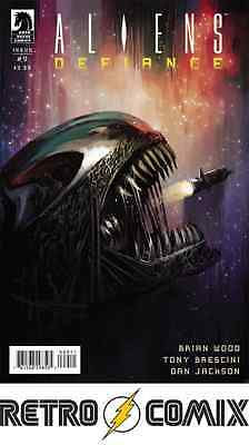 Dark Horse Aliens Defiance #9 First Print New/unread Bagged & Boarded