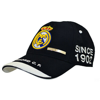 Official  Real Madrid  FC   Baseball Cap  Black     FREE(UK) P+P