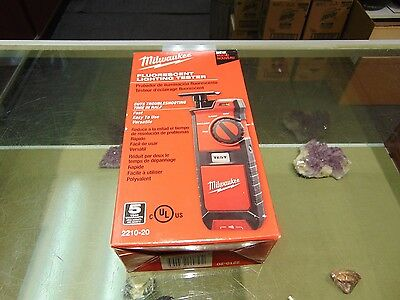 Milwaukee 2210-20 Fluorescent Lighting Tester 100% Brand New & Ready To Ship