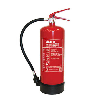 Water Additive Fire Extinguisher - 6Ltr Water Additive Extinguisher FireShield P