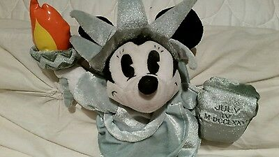 NYC Disney Minni Mouse Soft Toy Doll