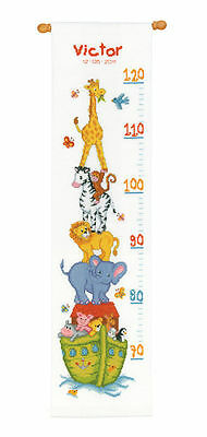 Vervaco - Counted Cross Stitch Kit - Hight Chart - Noah's Ark - PN-0011807