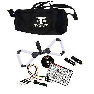 T-Grip Max Home Gym Fitness Set | Portable Workout Gear You Can Take Anywhere!