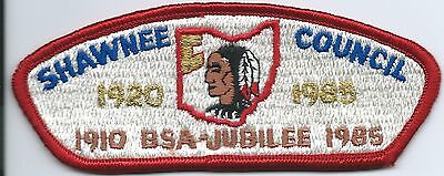 Boy Scout Shawnee Council S5 Csp 75th Anniversary OH Merged