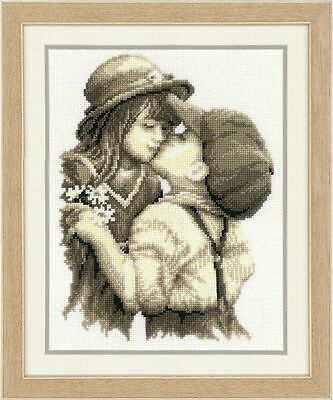 Vervaco - Counted Cross Stitch Kit - First Kiss - 200270.175