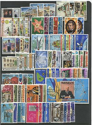 BARBADOS - 21 sets & 1 Miniature Sheet from the 1970 / 1980's .