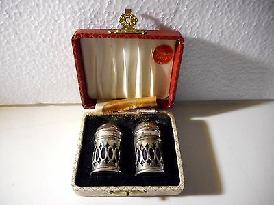 Antichi Set Per Sale E Pepe Silver Plated Inglese Made In England E.p.n.s