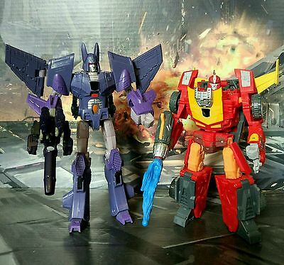 Transformers - Rodimus und Cyclonus - komplett - top!