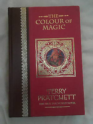 Terry Pratchett Discworld THE COLOUR OF MAGIC Unseen Library Collectors edition