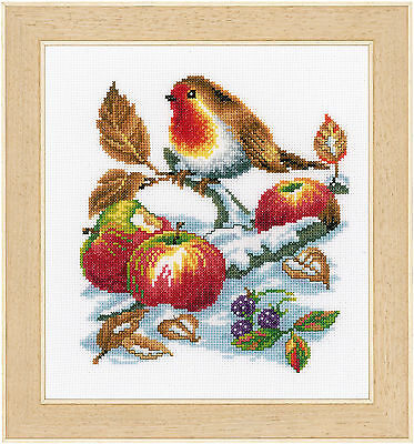 Vervaco - Counted Cross Stitch Kit - Robins Treasure - 200270.362