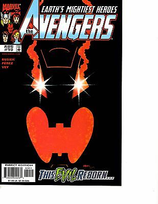 Lot Of 6 Avengers Marvel Comic Books # 19 20 21 22 23 25 Ultron Unlimited DC3