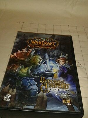 World of warcraft collector edition trading cards box set