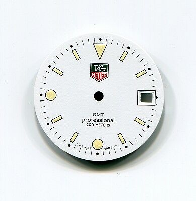 Tag Heuer Dial Genuine Factory GMT Professional 200 Meters White