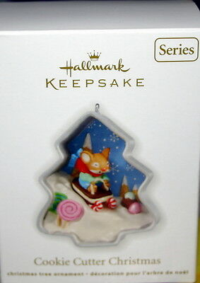 Hallmark Ornament 2012 Cookie Cutter Christmas #1 In The Series