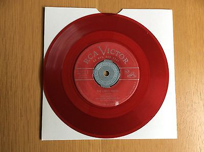 MARIO LANZA The Lords Prayer 7/45 RARE RED VINYL PRESS NR MINT