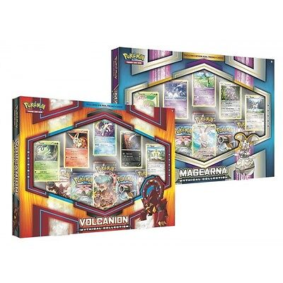 Pokemon Set MEGEARNA - VOLCANION Mythical Collection Box - INGLESE ESCLUSIVO