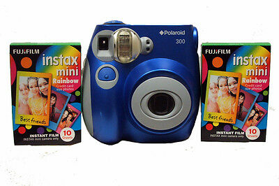 Polaroid 300 Instant Camera with 2 films - Blue