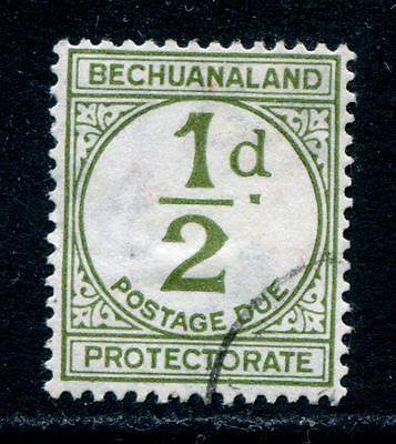 Bechuanaland Protectorate: 1932 ½d Postage Due stamp SG D4 Fine Used T099