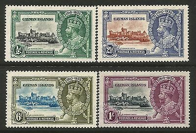 Cayman Islands 1935 Silver Jubilee set pristine unmounted mint condition