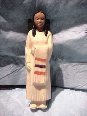 St. Labre Indian Mission School plastic Squaw with Papoose
