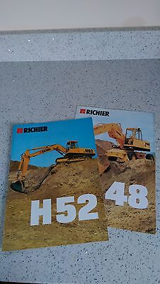 Richier H52 H48 P48 Excavator Ford construction France