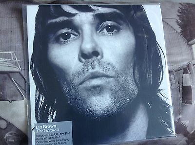 Ian Brown The Greatest 2 Lp Vinyl New And Unplayed