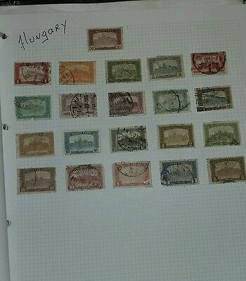 Hungary Stamps - Early used Selection