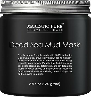 Z Dead Sea Mud Mask From Majestic Pure Spa's Premium Quality Facial Cleanser