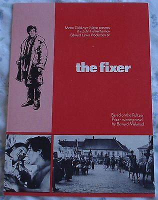 THE FIXER (vintage 1968 2-page flyer + photo) mint condition