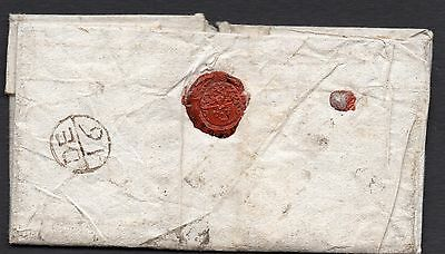 1710 letter with early bishop's mark addressed to The Wheat Sheafe London DE 16