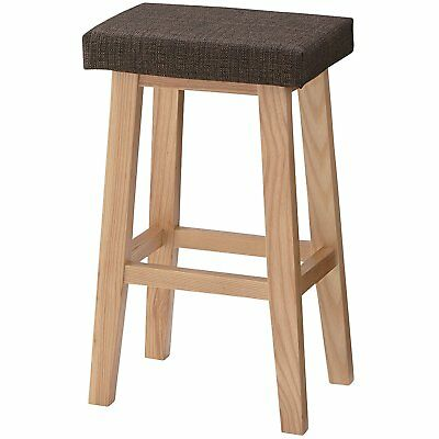 Miraculous Counter Stool High Chair Wooden Cushioned Home Office Shop Creativecarmelina Interior Chair Design Creativecarmelinacom