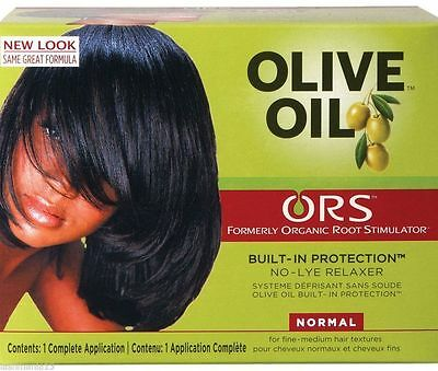 ORS Organic Root Stimulator Olive Oil No Lye Relaxer Kit-Normal