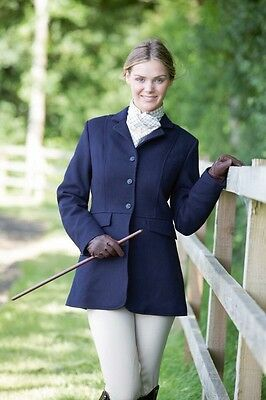 Equetech Navy Ladies Hunting Jacket 12 / 36