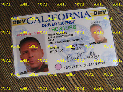 Pulp Fiction - Butch Coolidge  License - Prop - Cosplay - Novely - B3G1F