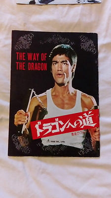 Bruce Lee The Way Of The Dragon Magazine