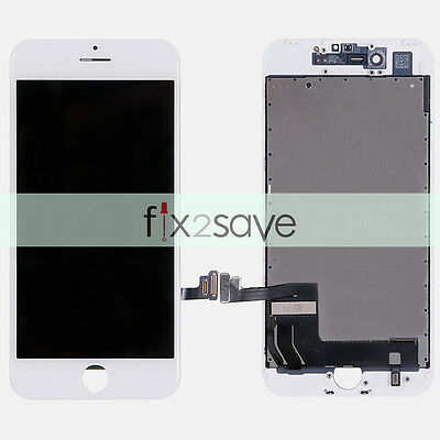 New White LCD Display Touch Screen Digitizer Assembly Replacement For iPhone 7