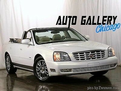 2004 Cadillac DeVille  Rare DeVille Convertible,One Owner,