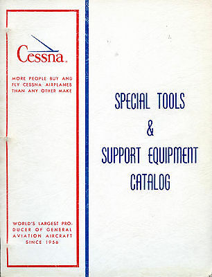 Cessna-Special Tools And Support Equipment Catalog