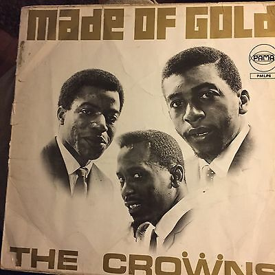 the crowns made of gold PAMA pmlp6 1968 soul LP