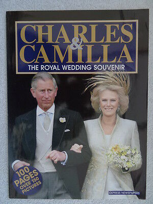 Charles & Camilla - The Royal Wedding Souvenir - 100 pages - April 9th 2005