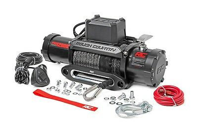12000lb winch with Synthetic rope