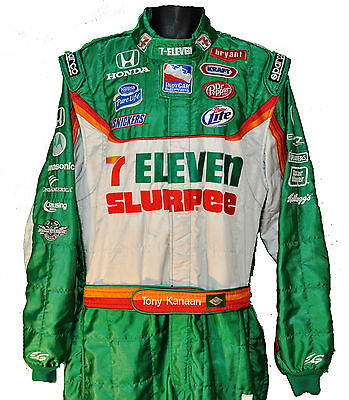 Tony Kanaan Irl Slurpee 711 Indy Crew Suit Colourful Not F1