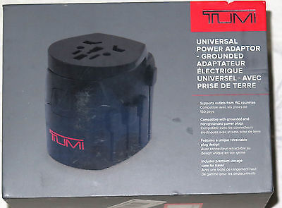Tumi - Universal Power Adapter - Grounded - Black 04929