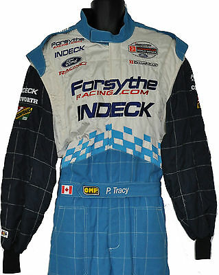Paul Tracy Rare Indy Player's Forsythe Crew Suit With Paul's Name On Belt Not F1